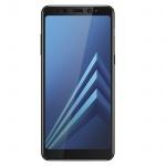 Displayschutzfolie aus Glas 0, 33mm für Samsung Galaxy A8 2018 - Muvit