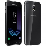 Samsung Galaxy J3 2017 Schutzhülle Silikon ultradünn (0.30mm) - Transparent