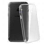Samsung Galaxy Xcover 4 Schutzhülle Silikon ultradünn (0.30mm) - Transparent