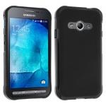 Flexible Schutzhülle aus Silikon für Samsung Galaxy Xcover 3 - Schwarz