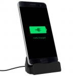 Ladestation Aufladen & Synchronisierung mit Micro-USB Anschluss - Schwarz