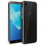 Huawei Y5 2018 Schutzhülle Backcover Silikon ultradünn (0.30mm) - Transparent