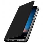 Flip-Cover für Huawei Mate 10 Lite mit Kartenfach & Standfunktion - Schwarz