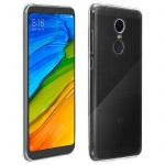 Xiaomi Redmi 5 Plus Schutzhülle Silikon ultradünn (0.30mm) - Transparent