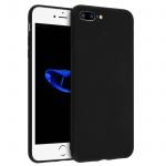 Apple iPhone 7 Plus, 8 Plus schwarze ultradünne Schutzhülle aus Silikon
