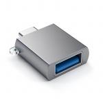 Sync- & Ladeadapter, USB-C männlich/ USB weiblich Adapter by Satechi - Spacegrau