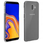 Samsung Galaxy J6 Plus Schutzhülle Silikon ultradünn (0.30mm) - Transparent