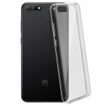 Honor 7A/Huawei Y6 2018 Schutzhülle Silikon ultradünn (0.30mm) - Transparent