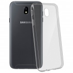 Samsung Galaxy J7 2017 Schutzhülle Silikon ultradünn (0.30mm) - Transparent