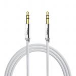 Audiokabel Männlich-Männlich 3.5mm Klinkenstecker, guter Ton, 1M Inkax-Weiß
