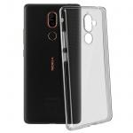 Nokia 7 Plus Schutzhülle Silikon ultradünn (0.30mm), Gelhülle - Transparent