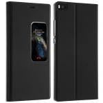 S-View Cover Sichtfenster für Huawei P8 - Schwarz