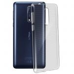 Nokia 8 Schutzhülle Silikon ultradünn (0.30mm) - Transparent