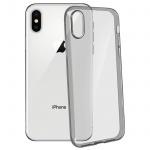 Ultradünne Schutzhülle aus Silikon für Apple iPhone X (0.3mm) - Schwarz