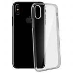 Ultradünne Schutzhülle aus Silikon für Apple iPhone X (0.3mm) - Transparent