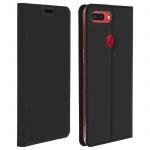 Dux Ducis Flip Cover Oppo R15 Pro mit Kartenfach & Standfunktion - Schwarz