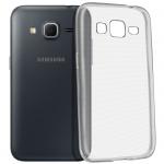 Samsung Galaxy Core Prime Schutzhülle Silikon ultradünn (0.30mm) - Transparent
