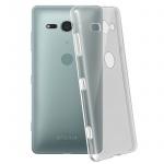 Schutzhülle Silikon ultradünn (0.30mm) für Sony Xperia XZ2 Compact - Transparent
