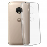 Motorola/Lenovo Moto G5 Schutzhülle Silikon ultradünn (0.30mm) - Transparent