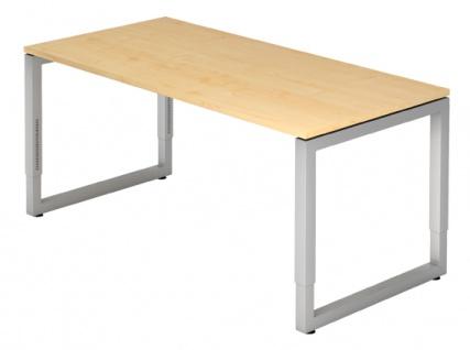 Schreibtisch Hammerbacher R-Serie 160 x 80 cm Ahorn Dekor