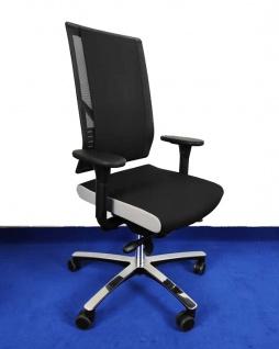 Bürostuhl Löffler Figo FG Edition by BLA Flachpolster Netz Ergo Top Auswahl Farbe Optionen