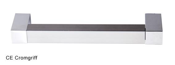 Falttürenschrank Hammerbacher Solid 5OH Türen 100 x 42 x 201 cm officegrau Ahorn Dekor