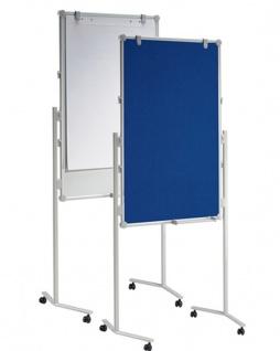 Präsentationstafel Maul Pro Pinnwand Textil blau Whiteboard