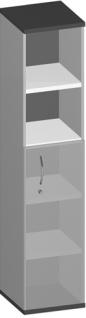 Regalschrank Pendo Vari Edo 3 zu 5 OH 40 x 189 x 44 cm Auswahl Farbe Optionen