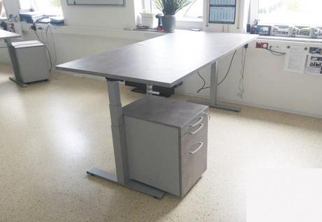 Schreibtisch elektrisch höhenverstellbar Pendo Polar Top 200 x 100 cm Auswahl Farbe Optionen