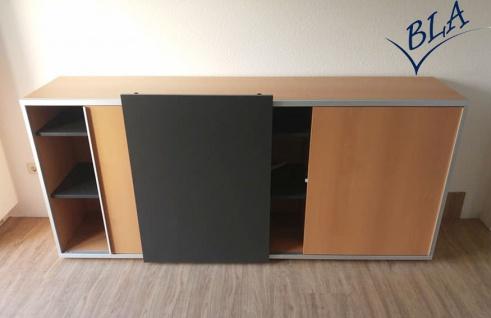Schiebetüren-Sideboard Expendo Line Exklusiv 240 cm 2 OH Auswahl Farbe Optionen