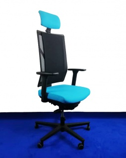 Drehstuhl RVC ER016 SK Netz-Spann-Polster Ergo Balance Auswahl Farbe Optionen