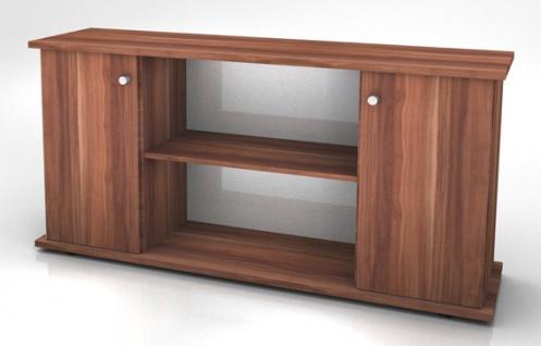 Büro Sideboard Hammerbacher Basic 2 OH 166 x 45 x 84 cm Zwetschge Dekor