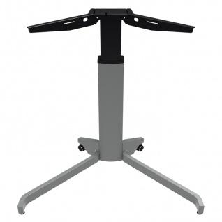 Tischgestell elektrisch höhenverstellbar Conset Elektro 5 Single Alu silber
