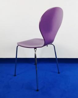Besucherstuhl Askman Design Danerka Rondo Armlehnen 30 purple schwarz Vor Ort Artikel