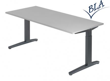 Schreibtisch elektrisch höhenverstellbar HMB Berlin Aktiv 160 x 80 cm Auswahl