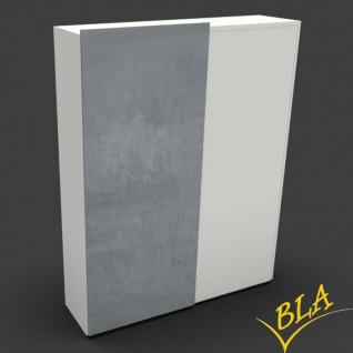Schiebetürenschrank Expendo Line Exklusiv 160 x 228 x 50 cm 6 OH Farbauswahl