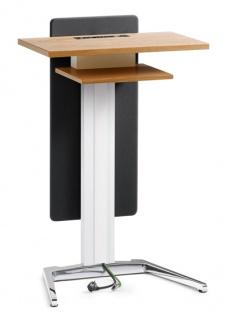 Rednerpult SDS Trainform mit Sichtschutz Auswahl Farbe Optionen