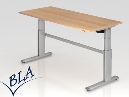 Schreibtisch elektrisch höhenverstellbar Hammerbacher Maximal 180 x 80 cm Auswahl Farbe Optionen
