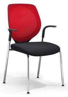 Vierfuss Konferenzstuhl Giroflex 353 7004 Netz MA Auswahl Farbe Optionen