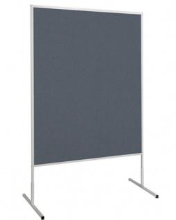 Präsentationstafel Maul Standard Pinnwand dunkelgrau