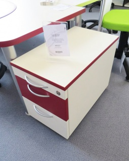 Rollcontainer Pendo Orga-Tec EC 2 Schubladen 60 cm Auswahl Farbe Optionen