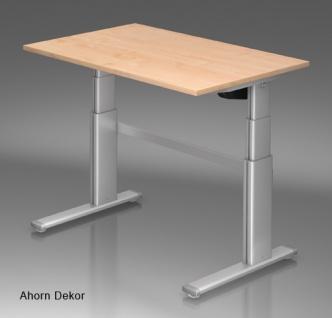 Schreibtisch Hammerbacher XD Elektro 120 x 80 cm Ahorn Dekor