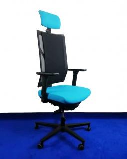 Bürostuhl Rovo Chair R16 3040 Kopfstütze Netz-Spann-Polster Ergo Balance Auswahl Farbe Optionen