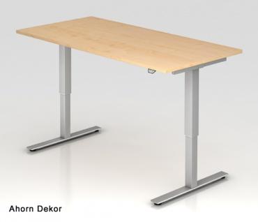 Schreibtisch Hammerbacher XM-Serie Elektro 160 x 80 cm Ahorn Dekor