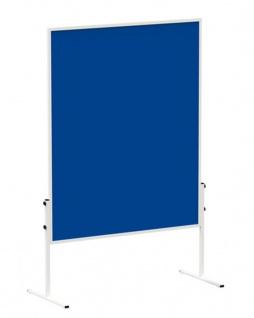 Präsentationstafel Maul Solid Pinnwand Filz blau