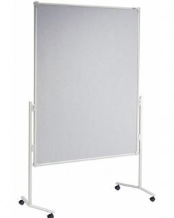 Präsentationstafel Maul Pro Pinnwand Glasfaser grau