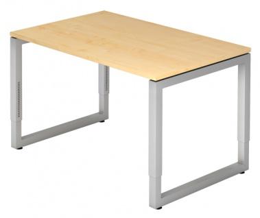 Schreibtisch Hammerbacher R-Serie 120 x 80 cm Ahorn Dekor