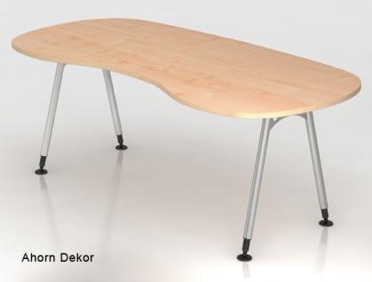 Chefschreibtisch Hammerbacher A-Serie 200 x 100 cm Ahorn Dekor