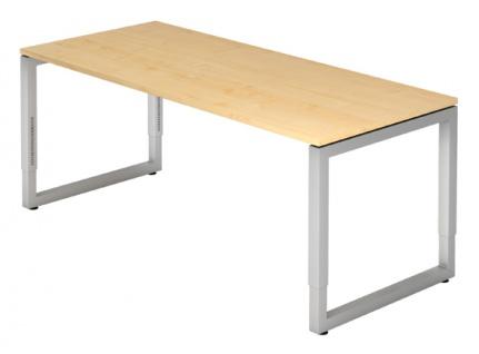 Schreibtisch Hammerbacher R-Serie 180 x 80 cm Ahorn Dekor