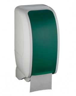Toilettenpapierspender Metzger Cosmos weiss grün